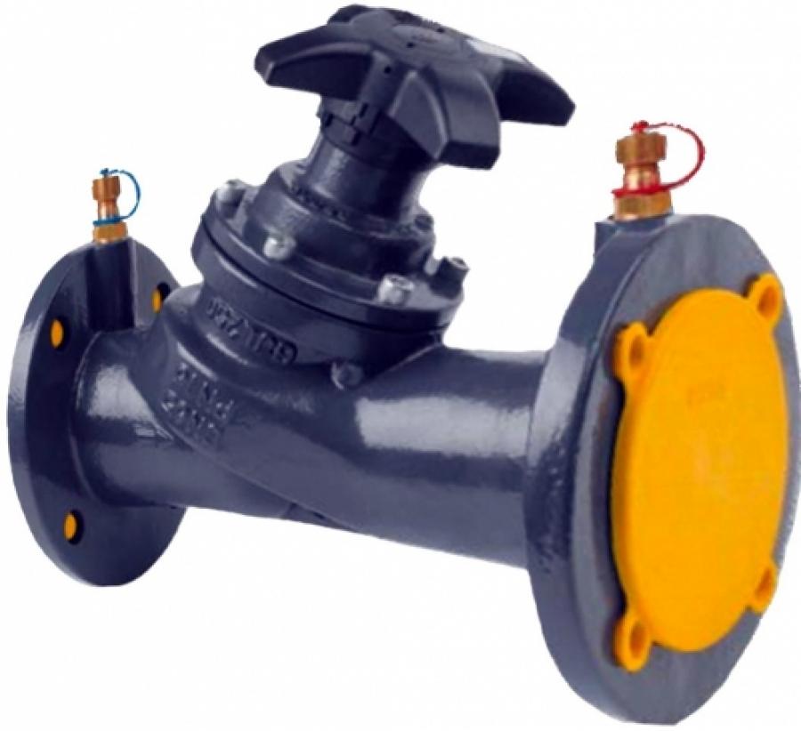 Клапаны ручные балансировочные фланцевые CIM 3739 - Ду 80