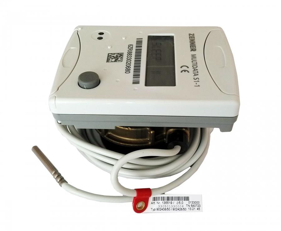 Теплосчетчик квартирный Multidata S1-1 Ду 15 Qn 0,6 M-Bus