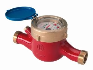 Многоструйный счетчик горячей воды MTW-N Ду 25